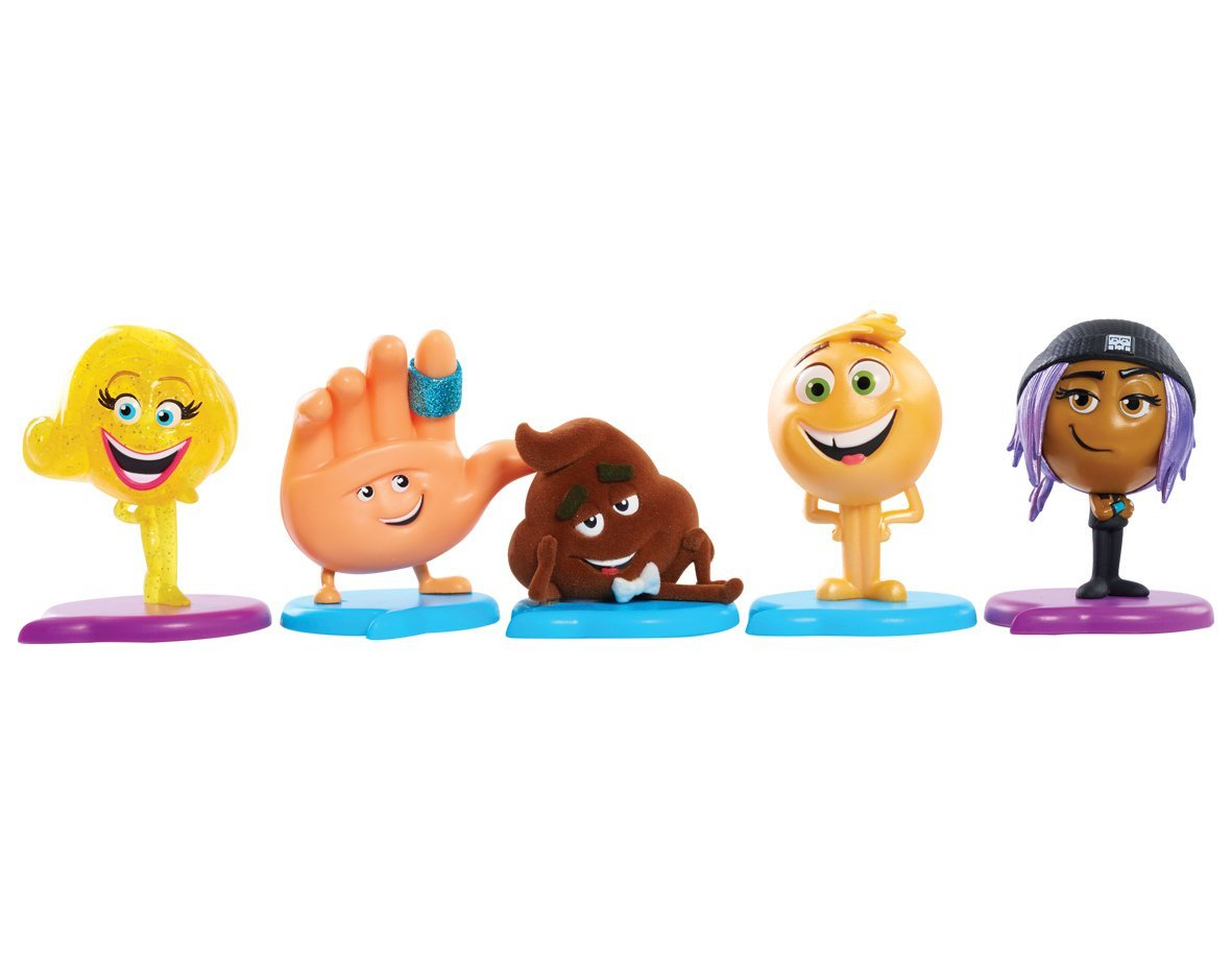 The Emoji Movie collectible figutes